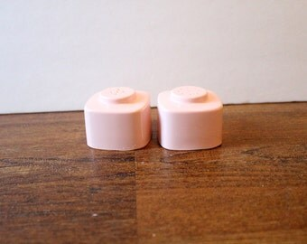 Retro Pink Melamine Salt and Pepper Shakers