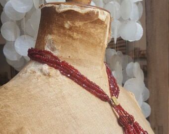 Rare Regency Sautoir Beaded Necklace