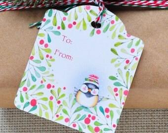 Christmas Gift tags,Holiday Gift Tags, Cute Christmas Gift tag, Cute Holiday Gift tag, Gift tag set of 8, Gift tag set, Cute Gift tags
