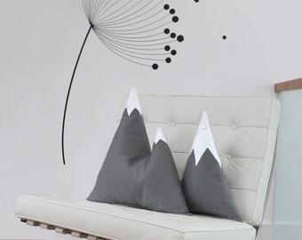 Single Grey Mountain Cushion