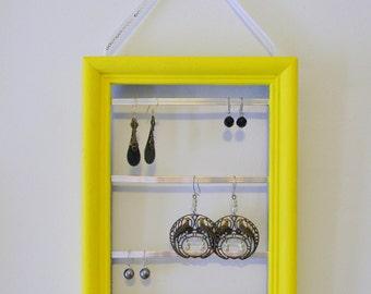 Yellow Earring Frame