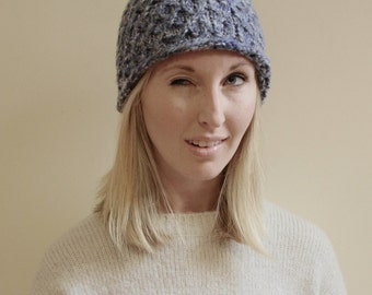 KNITTING PATTERN - Isabelle Knit Hat Pattern (Child, Young Adult, Adult Sizes)