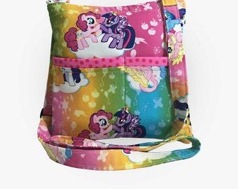 My Little Pony Crossbody Bag // Sling Bag // Crossbody Purse // Shoulder Bag // Hipster