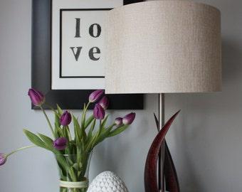 Table Lamp | Nautical | Reclaimed | Sails | Maple | Wood | Steel