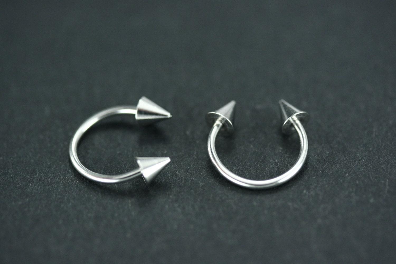 10x Body Piercing Jewelry Horseshoe Septum Piercing Nose ... |Septum Piercing Horseshoe Ring