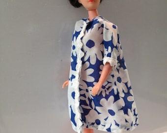 Lovely 1960s Fashion Clone Doll in Marimekko Style Smock