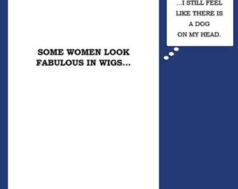 Wigs Chemo Card