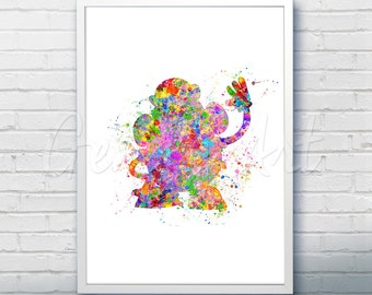 Disney Pixar Toy Story Mr Potato Head Watercolor Poster Print - Watercolor Painting - Watercolor Art - Kids Decor- Nursery Decor
