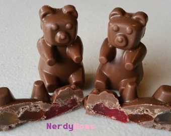 Muddy Bears, Chocolate Covered Gummy Bears