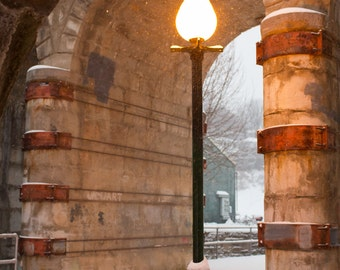Lamp Post in the Snow