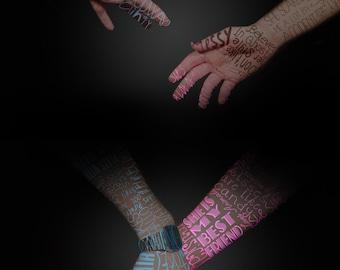 Love Lends a Hand Poster