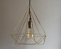 Large Himmeli Light - Diamond Shape