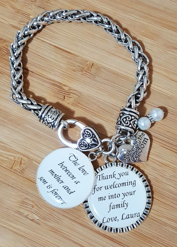 Mother of the Groom Gift Mother of the Groom Bracelet Wedding Gifts for Mother in Law Mother in Law Bracelet Mother in Law Gift
