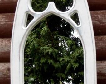 Chancel Interior Gothic Mirror.