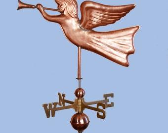 Copper Angel Weathervane BH-WS-125