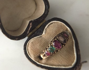 SALE:  30% off -- Victorian Regard Ring in 15ct Gold