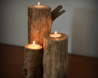 Candle Stands (set of 3)