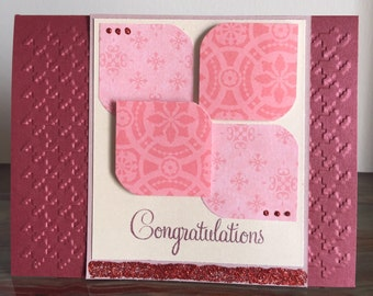 C5 Congratulations, handmade cards, Everyday card, Any occasion card