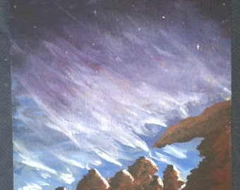 Blue Sky Mountains