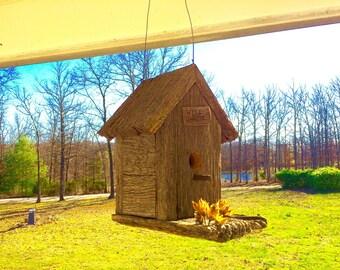Barnwood Birdhouse