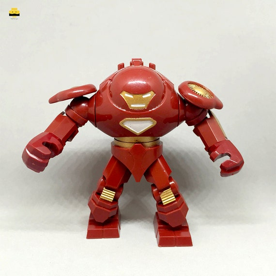 Sale custom iron man hulkbuster mini figure lego by - Mini iron man ...