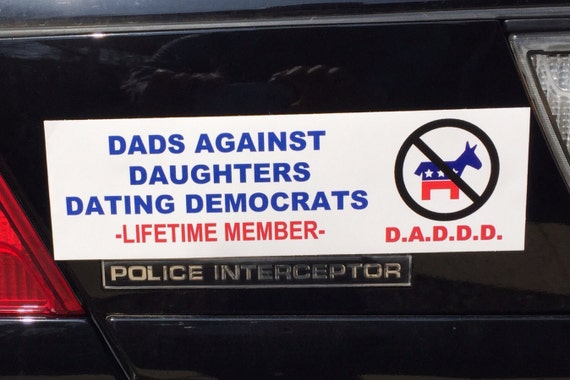 Dads Against Daughters Dating Car Decals