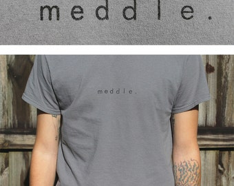 meddle simple t shirt