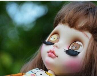 "Cute ""Rila""Ooak Blythe custom doll"