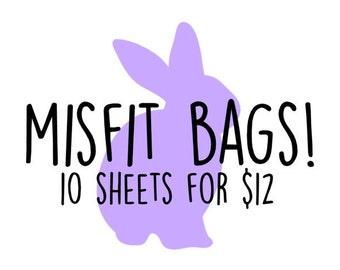 MISFIT BAGS!