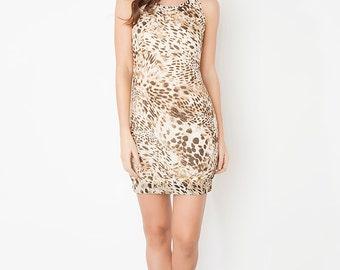 Tight Leopard print dress