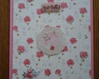 Roses Friendship Card