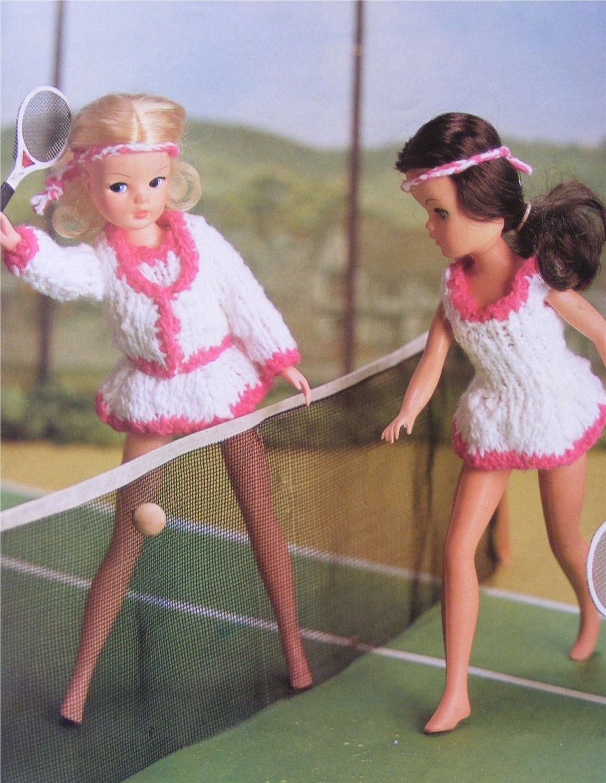 Muñecas ropa PDF tejer patrón: 11-12 pulgadas Dolly. Gimnasio