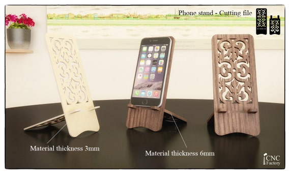 phone stand laser cutting template plans wooden iphone. Black Bedroom Furniture Sets. Home Design Ideas