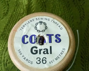 vintage cotton reel