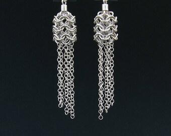 Silver Handmade Earrings New Design