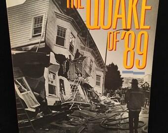 San Francisco Earthquake Book - The Quake of '89 book San Francisco Chronicle News Staff 1989 Paperpback