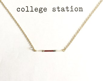 College Station Necklace