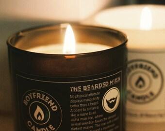The Bearded Musk - Boyfriend Candle