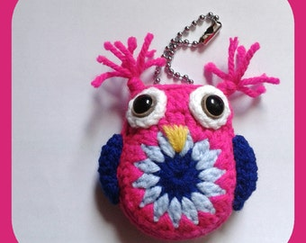 OWL amigurumi Keyring