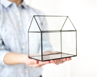 Glass house Etsy