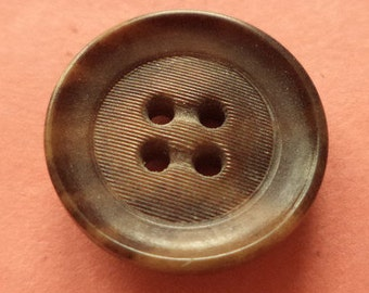 8 Brown buttons 16mm 20mm (1643-1822) button