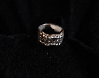 Sterling Silver Wavy Ring