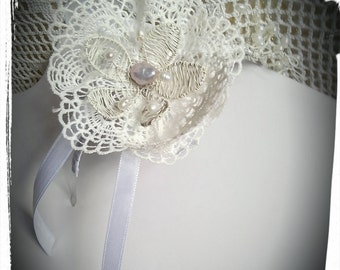 shabby chic in bloom tiara
