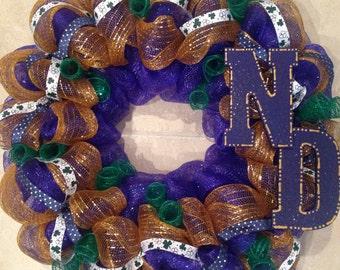 Notre Dame Wreath