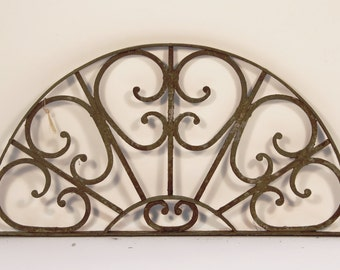 Vintage Architecture - decorative wrought iron gate