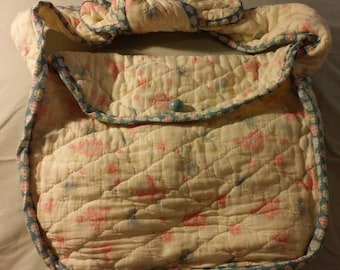 Upcycled Quilt Purse