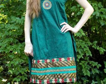 Emerald Ethnic Tunic