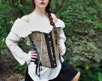 Silk Pirate Renaissance Blouse