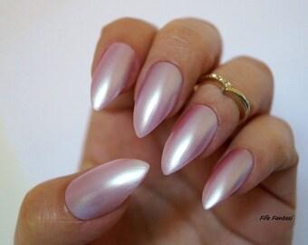 Pointy nails etsy kardashian inspired nails nail designs nail art stiletto nails false nails prinsesfo Choice Image