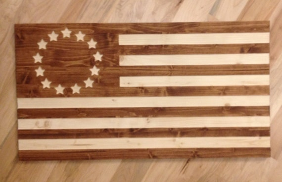 Wall Decor Ross : Stars and stripes betsy ross flag wall art